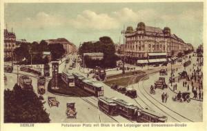 Potsdamer Platz in den Zwanzigern